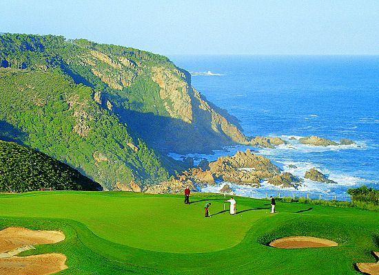 Golf at Pezula Resort Hotel and Spa in Western Cape, South Africa