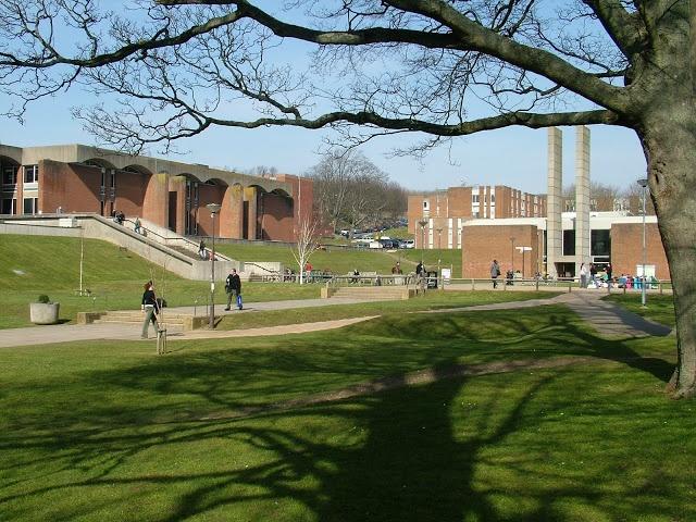 University of Sussex campus, Brighton, UK