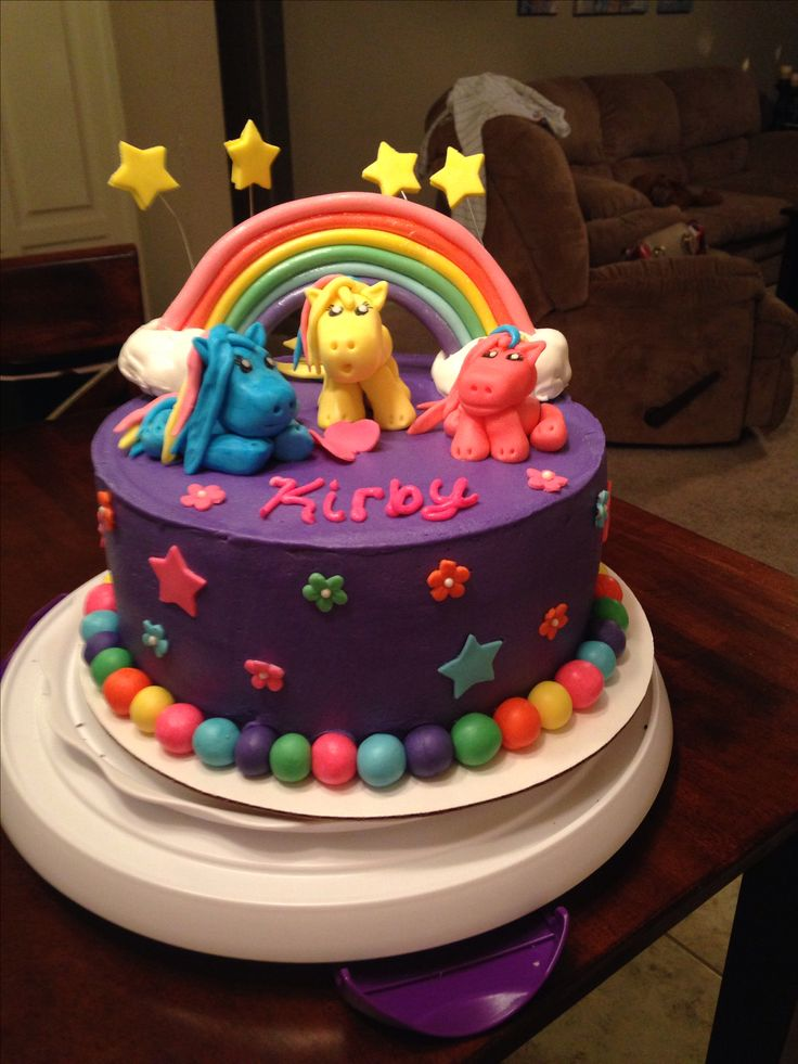 My little pony cake | bizcochos | Pinterest