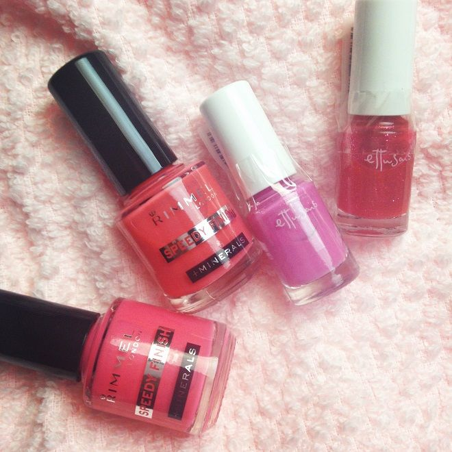 In the mood for bright nails, can you tell?