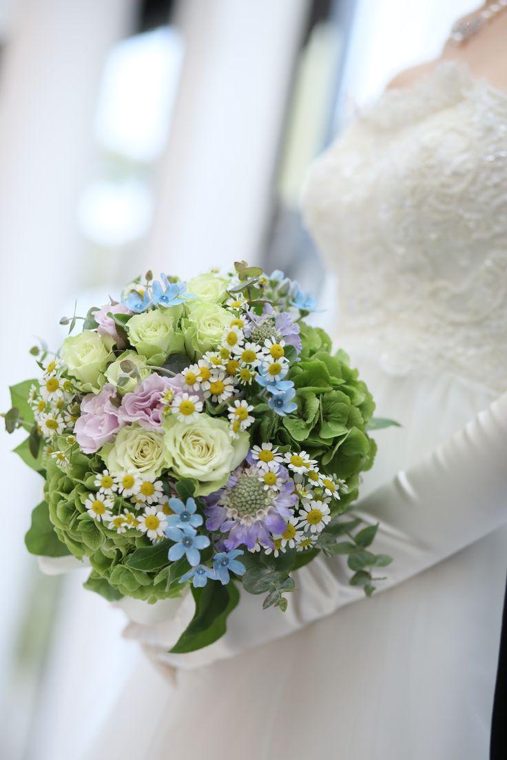 野の花ブーケ/花どうらく/ブーケ/http://www.hanadouraku.com/bouquet/wedding/