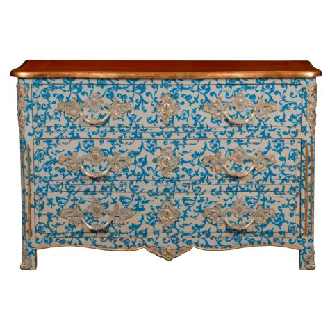 Best Antique Style Blue Chest Of Drawers Blue Chest Of 400 x 300