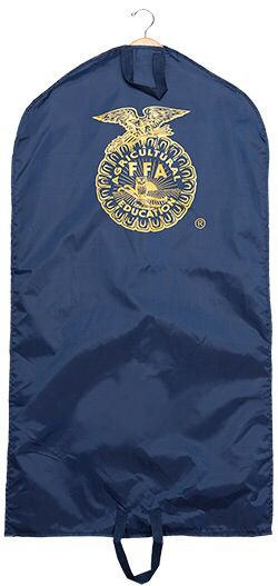 """Awesome ffa official dress bag""<- they sell these at the ffa store at state conference. I'll be going again this year in Fresno,CA in just a few weeks!!!"
