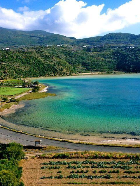 Pantelleria Sicilia lago di Venere