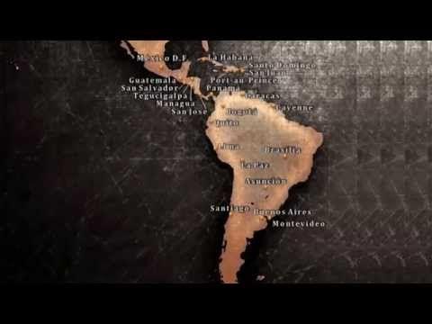 LAS CAPITALES DE AMÉRICA LATINA. Latin American Capitals - YouTube