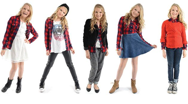 TRENDIY Art | Trendiy Girls - 5 Ways to Wear