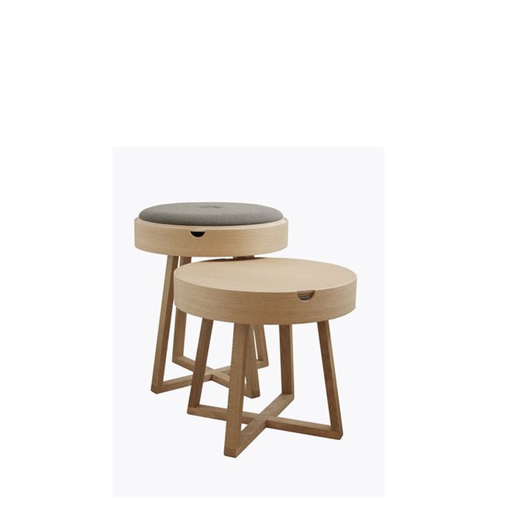 nordic function, not just a table, stole, stools, small tables