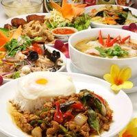 タイ料理の人気メニューの宝箱!!大満足のオススメコース。