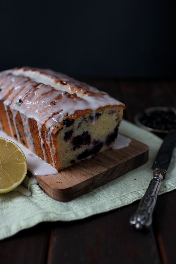 Wicked sweet kitchen: Blueberry & lemon loaf