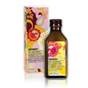 This oil soaks right into your damp hair, has an amazing scent and provides great protection against heat styling tools.