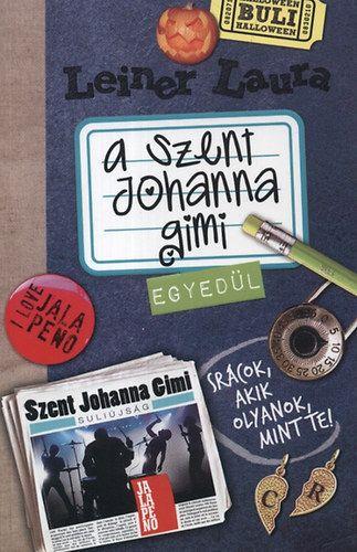 Szent Johanna Gimi Fanok Blogja: Könyvek
