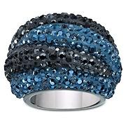 Appolon Blue Swarovski Ring
