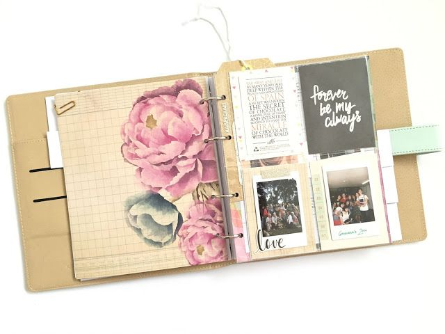 I am crazy for planners and scrapbooking, so I just have to have this Kaisercraft journal planner!