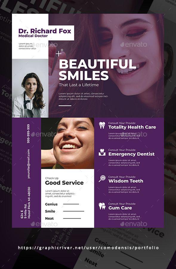 Dental Flyer Template Psd