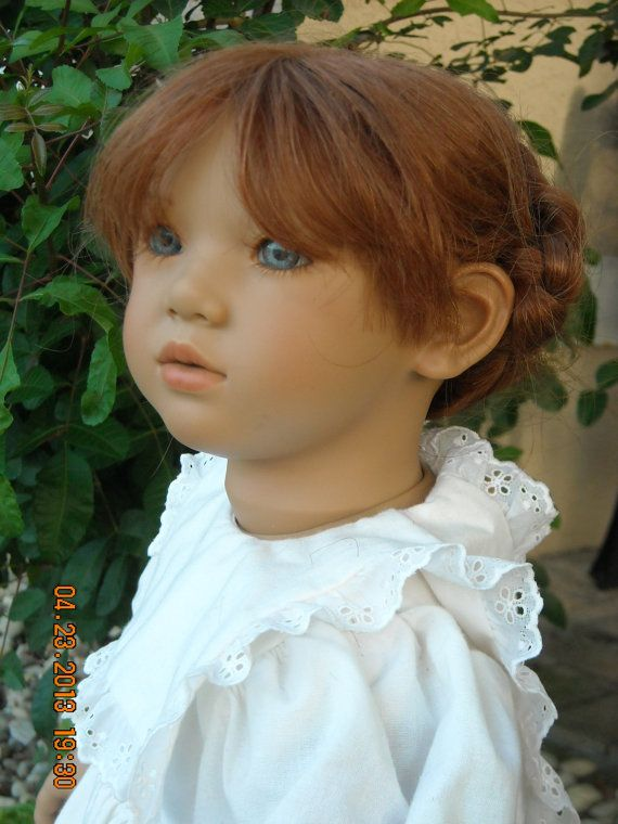 This doll is precious....Listed on Etsy Annette Himstedt's Liliane 1991 Faces of by KinderlandDolls, $339.00: Children Dolls, Dolls Hands Pick, Dolls Stuff, Dolls Rooms, Beautiful Dolls, Baby Dolls, Dolls Bears, Art Dolls, Collector Dolls