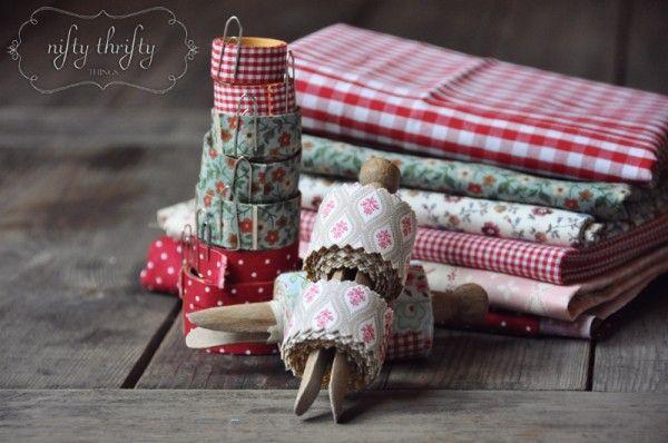 DIY fabric tape tutorial