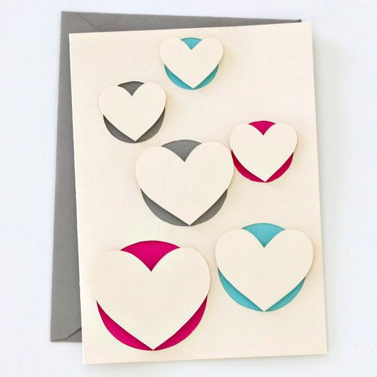 Pop-up Hearts Card diy ... http://www.bhg.com/holidays/valentines-day/crafts/heart-shape-crafts-for-valentines-day/#