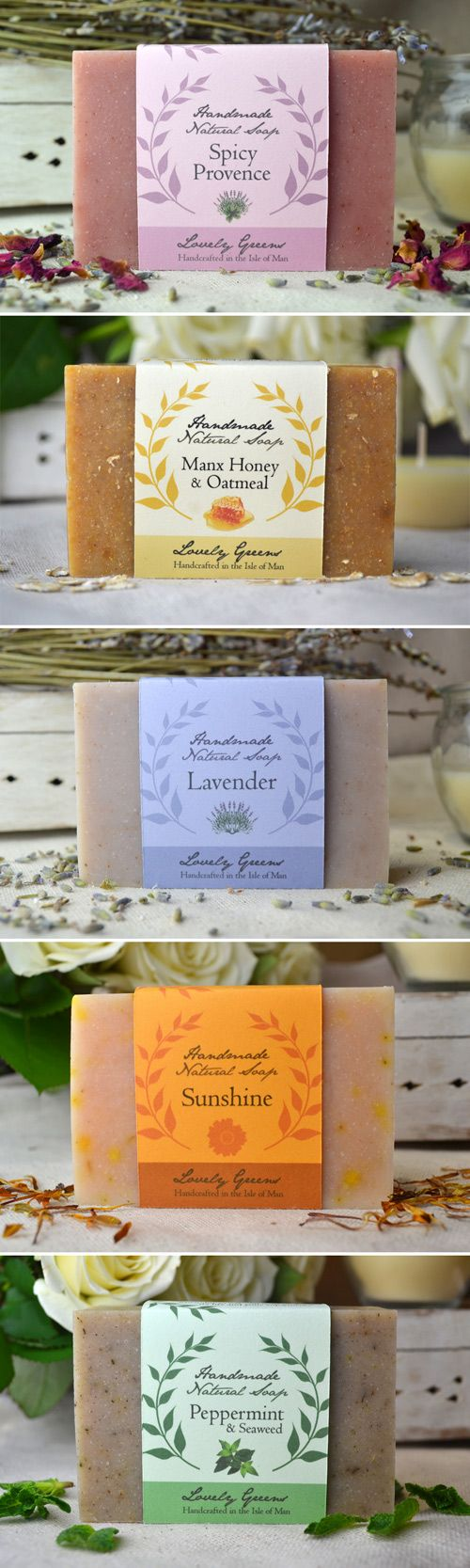 Handmade soap by Lovely Greens  Garden Collection - Island Collection