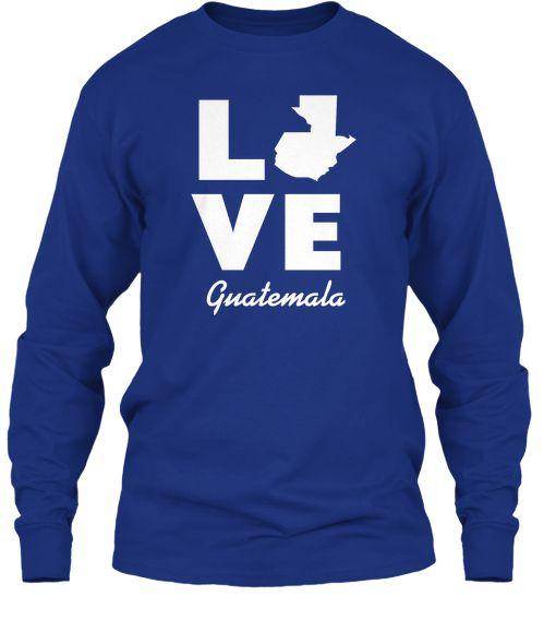 Love Guatemala - Blue - Adult Sizes
