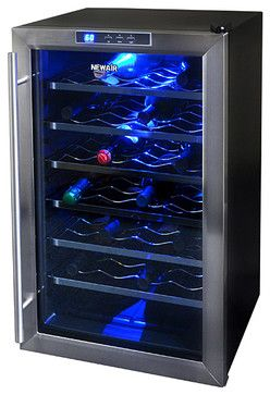 NewAir Wine Cooler AW-281E 28 Bottle contemporary-beer-and-wine-refrigerators