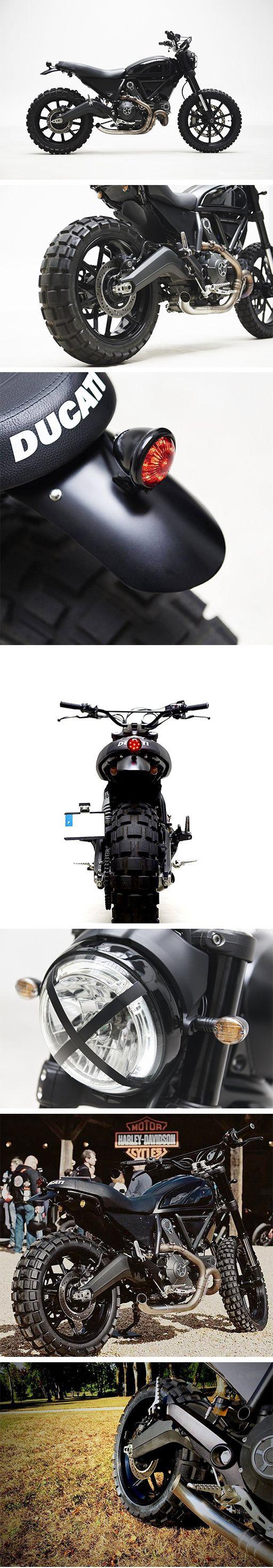 "Ducati Scrambler "" The Dark knight "" – Thomis Motorcycles"