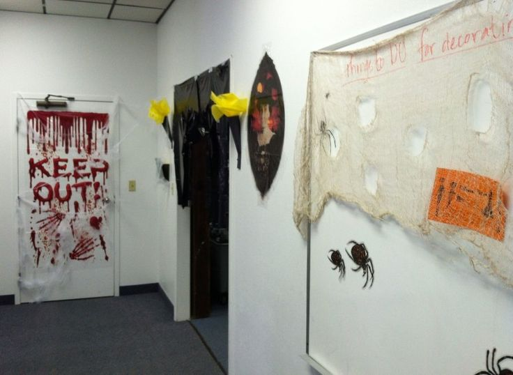 halloween office decoration ideas buscar con google - Halloween Office Decoration