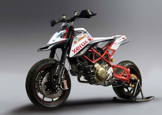 Build it...and they will come. Time for Ducati to stop building large squidgy motards, make something worth climbing onto.
