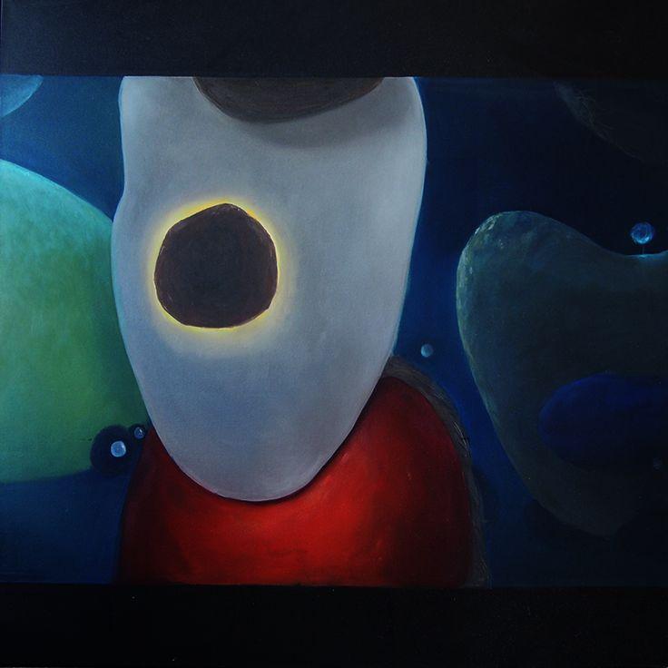Fantasie 1.0, oil on canvas, 100x100cm