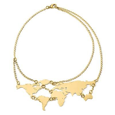 A world necklace? Yes please.
