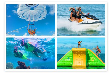 Fury Water Adventures has incredible deals on Key West Vacation Packages featuring your choice of hotel accommodations combined with watersports activities.