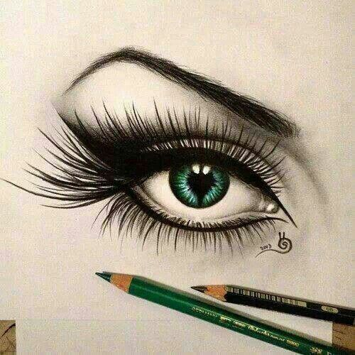 Eye Drawing: Pencil Drawing #eyes