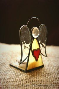 Image result for free standing stained glass angel patterns