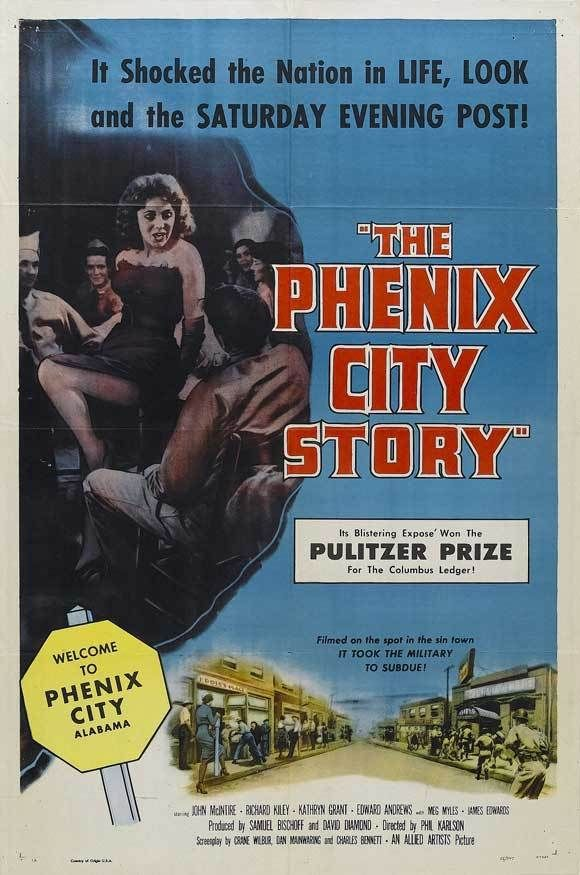 "firstclassmovies: "" THE PHENIX CITY STORY (1955). Phil Karlson directs a film noir docudrama about an Alabama town run by racketeers. """