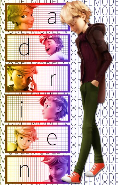 Oh gosh I just can't get enough of Adrien <3 <3