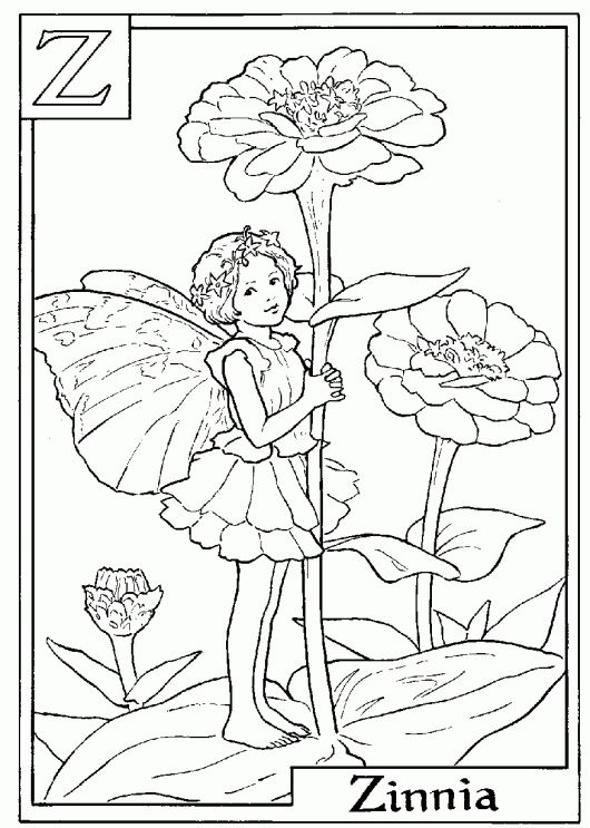 fairy coloring pages pinterest - photo#24