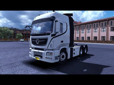 Promods 2 33 Driven Chinese Truck full of mega sound Ets2 v1 34 By