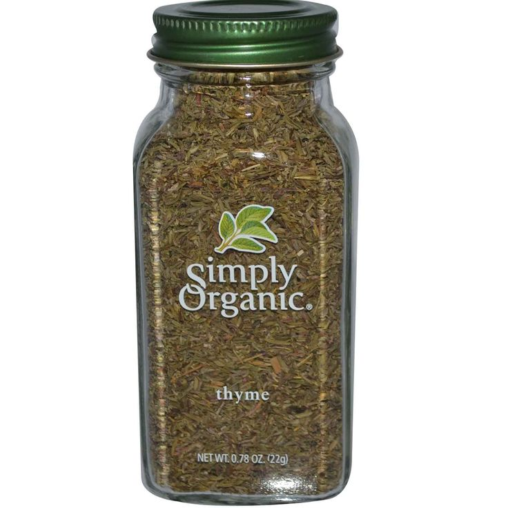 Simply Organic, Thyme, 0.78 oz (22 g)