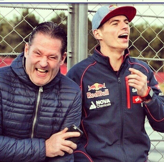 Jos and Max Verstappen