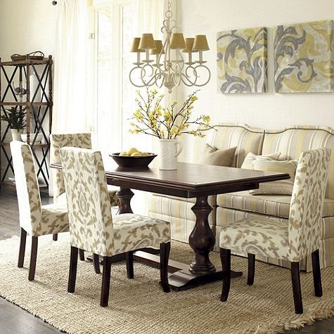 17 best images about dinner table on pinterest beautiful for Ballard designs dining room