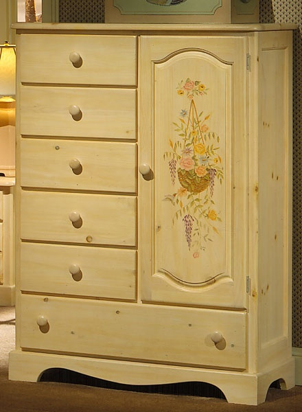 The Furniture Solid Pine Man S Chest Farmhouse