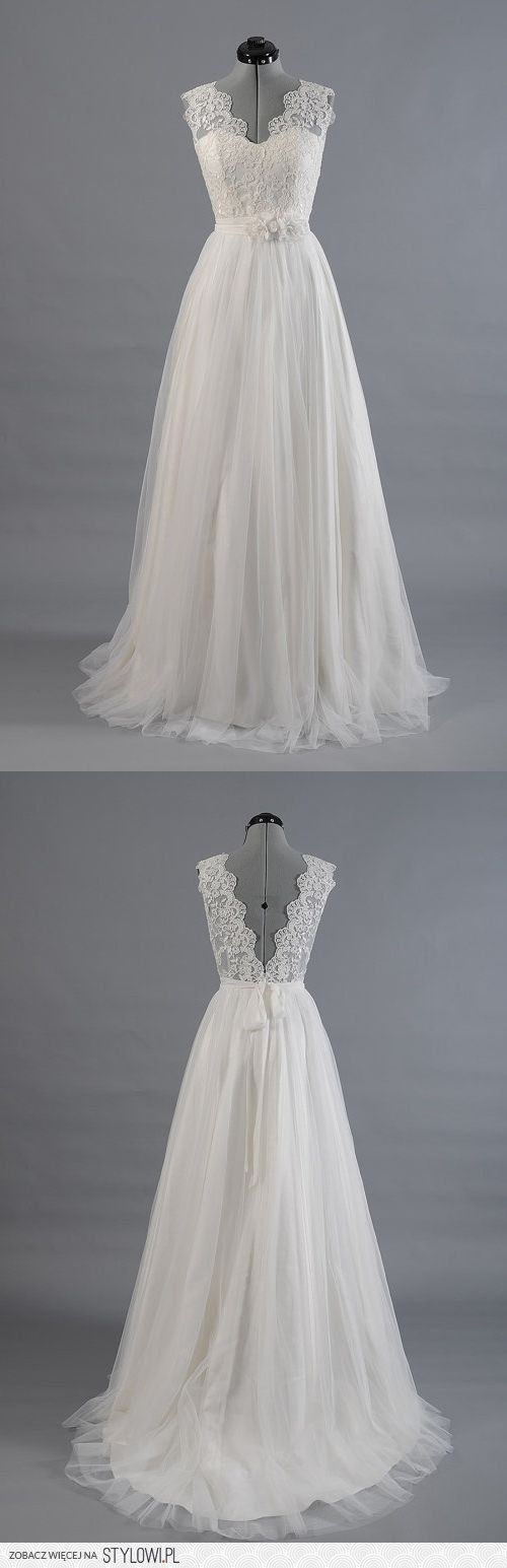 Moja suknia slubna!!!!!! na Stylowi.pl