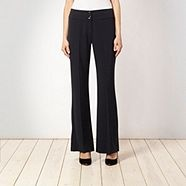 Collection  Navy buttoned waist trousers Debenhams
