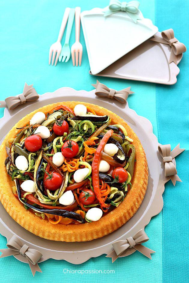 Torta salata con verdure, facile e veloce