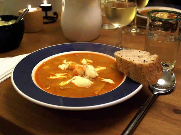 Zuppa di Pesce alla Marsigliese (Bouillabaisse)