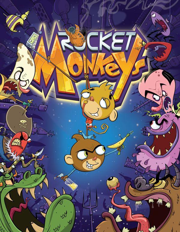 Rocket monkeys temporda 1