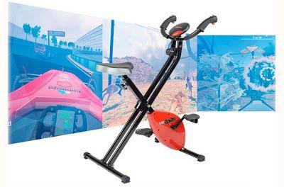 Faça exercícios nessa bicicleta para realidade virtual  VirZoom é um controle de videogame em forma de bicicleta ergométrica para que o jogar deixe de ser uma atividade sedentária e exercitar-se seja mais prazeroso.  O produto é composto da bicicleta os jogos e um ambiente para o desenvolvimento de aplicações para o equipamento. Esse aparelho de ginástica monitora com precisão as pedaladas (ao contrário do nosso Congresso desculpem não resisti) e seus movimentos através de sensores sem-fio…