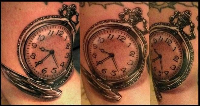 ... on Pinterest | Pocket watch tattoos Pocket watches and Horse tattoos