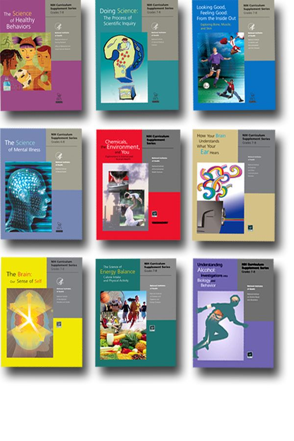 National Institute of Health & Science Education - Free curriculum supplements for middle school