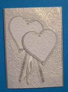 Papercats Crafts: Wedding card