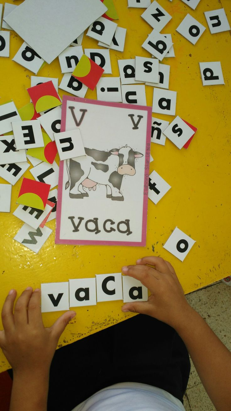 Alfabeto móvil (formar palabras) lectoescritura.